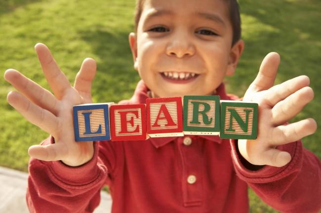 Preschool Boy Learning Stuttering