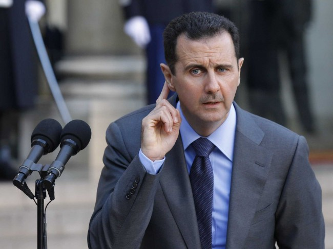 President Bashar Al-Assad Chemical Attacks