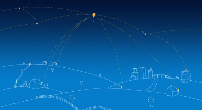 Project Loon's Network