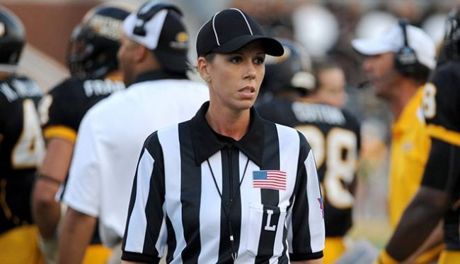 Sarah Thomas Has Positioned Herself to Introduce a Woman's Call