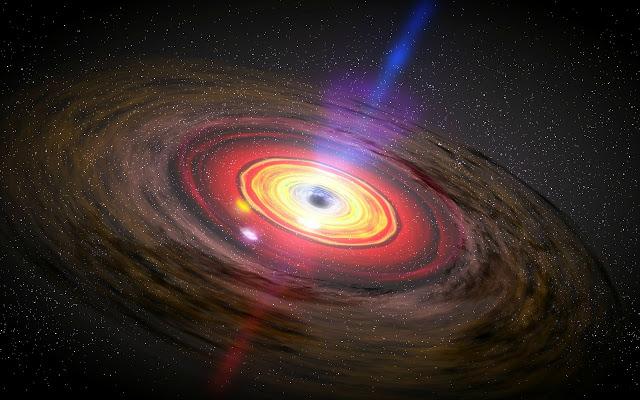 Sagittarius Black Hole Wallpaper