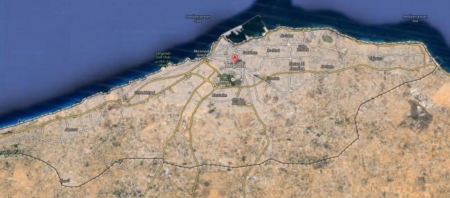 Tripoli Map Image
