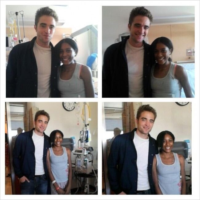 Robert Pattinson and Patients