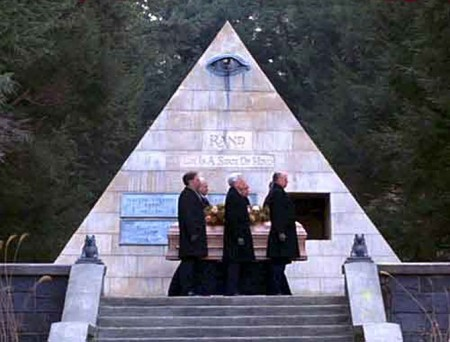 Being There movie shows an interesting pyramid