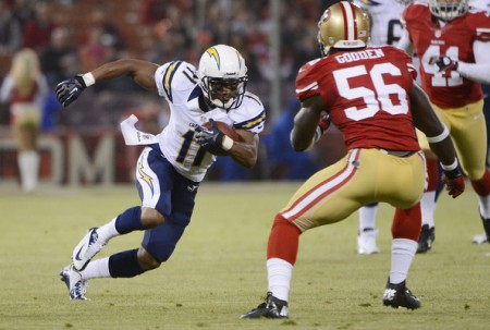 The San Diego Chargers will score an upset on Monday Night Football and beat the Indianapolis Colts.