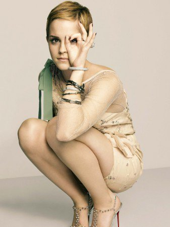 Emma Watson photo shoots displays a curious symbol
