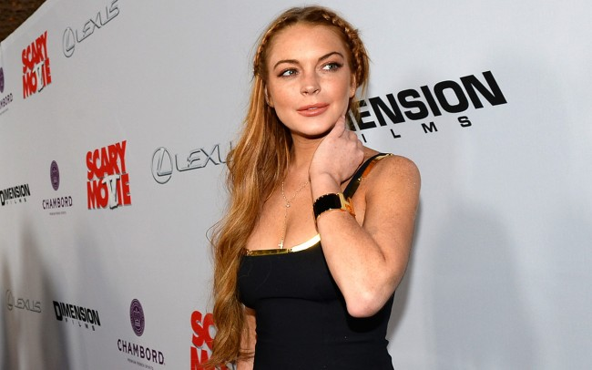 lindsay lohan, chelsea lately, guest host