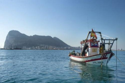 Spanish Fishermen Protest Artificial off of the Rock of Gibraltar
