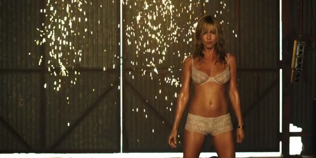 Jennifer Aniston, we're the millers, stripper