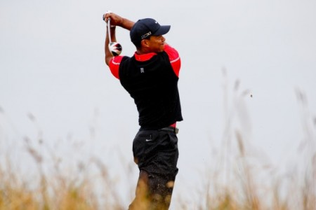 Tiger Woods struggled during round one, but feels that he is still in the hunt at the PGA Championship.
