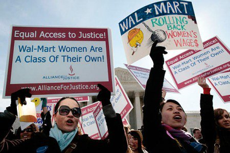 Walmart Exposed Over Pay and Discrimination