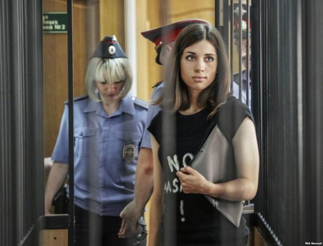 Pussy Riot Member Nadezhda Tolokonnikova Moved to a Prison Clinic
