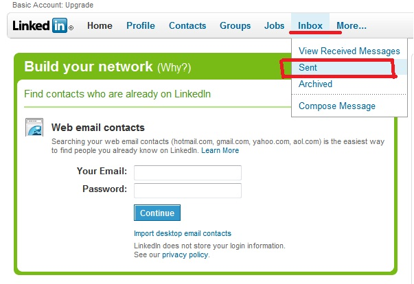 Subscribers previously accused LinkedIn of sending emails to all contacts