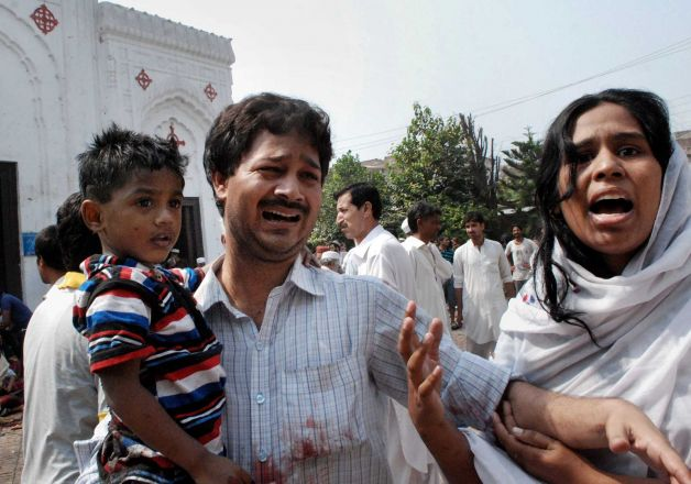Suicide Attack on Pakistani Christians Today