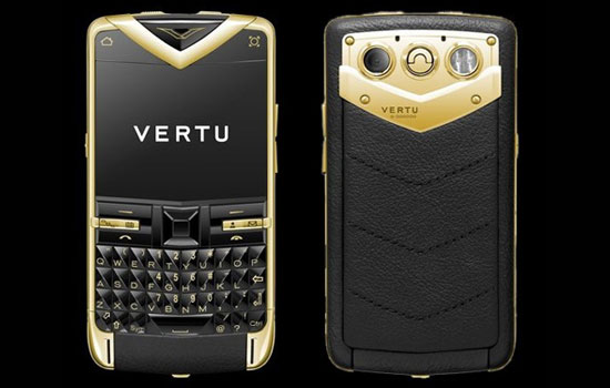 Vertu has dominated the ME smartphone market with high-end real gold phones.