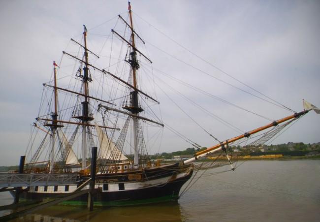 Irish Potato Famine Coffin ship