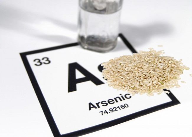 Arsenic may cause a risk to eating rice says FDA