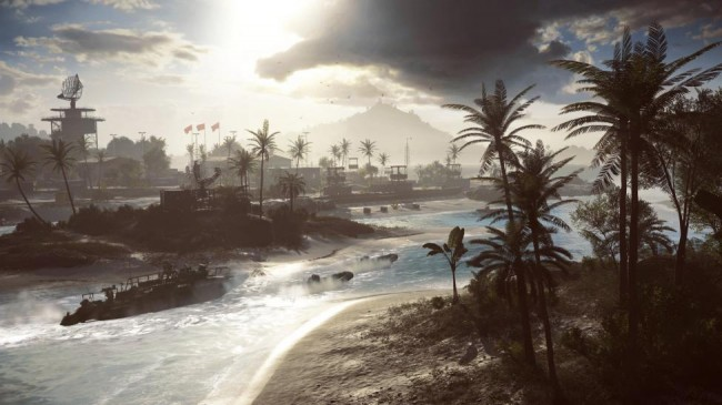 BF4 Parcel Storm Multiplayer mission