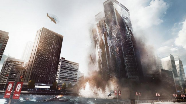 BF4 Siege of Shanghai Multiplayer mission