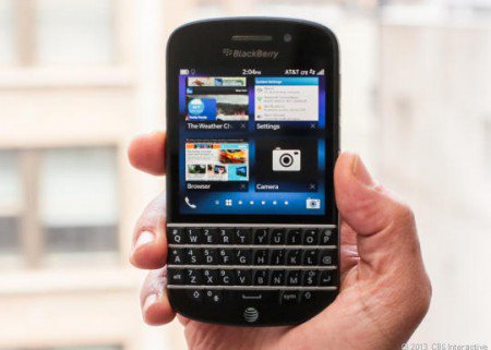 The BB Q10 resulted in dismal sales