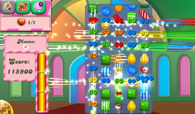 Candy Crush Saga Special Candy Boost