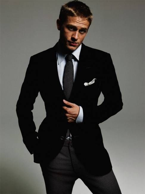 Can you see Charlie Hunnam as Christian Grey?