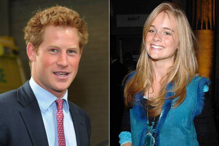 Prince Harry and his love, Cressida