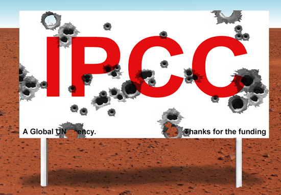 Has the IPCC been shot to pieces