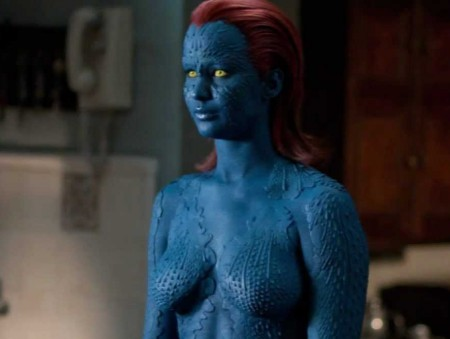 Jennifer Lawrence's Naked Mystique