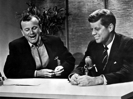 With his youthful appearance and unaffected charm, Kennedy became television's darling, making the appearance of JFK, in memoriam, a match made in television heaven.