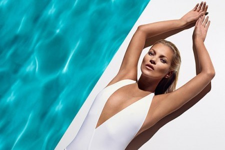 Kate Moss Goes Commando for Playboy's 60th