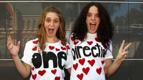 one direction fans are crazy