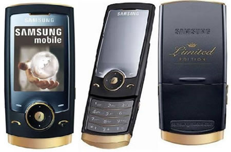 The Ultra 600 Series was a gold trimmed phone, Samsung released