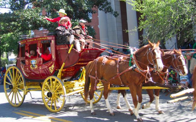 Wells Fargo famous stagecoach