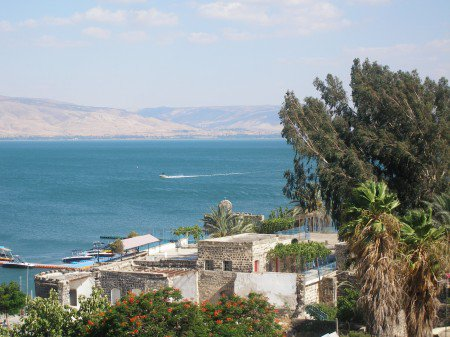 Sea of Galilee is the area where ancient town was discovered