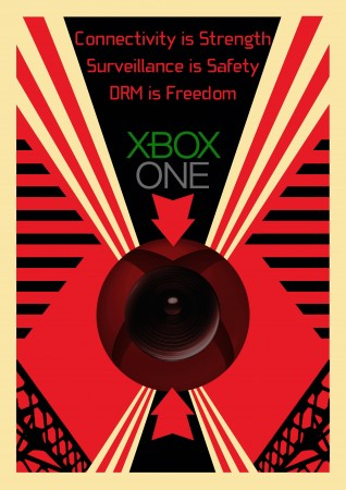 XBox One DRM and Kinect Surveillance