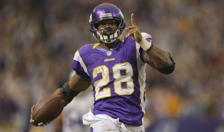 Adrian Peterson may be the top player in fantasy football, but he still says the game is a 'headache.'