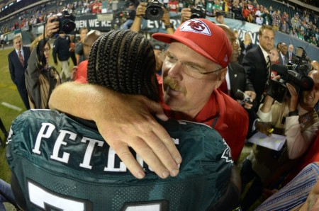 Andy Reid and the Eagles broke up after 14 years together this offseason, on Thursday night his Chiefs scored the first victory in the breakup series.