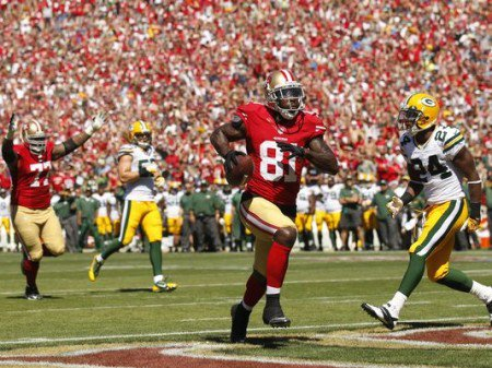 Anquan Boldin dominated the Packers defense, and was a major reason the 49ers were able to gut out a victory.