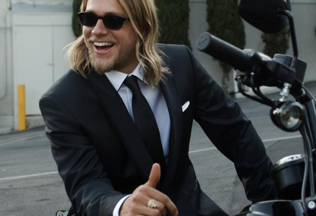 entertainment, movies, books, shades of grey, charlie hunnam, christian grey, jax teller, soa