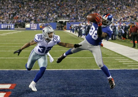 Hakeem Nicks and the Giants are getting frustrated after an 0-3 start.