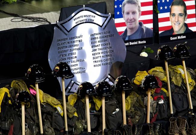Yarnell Firefighter Memorial