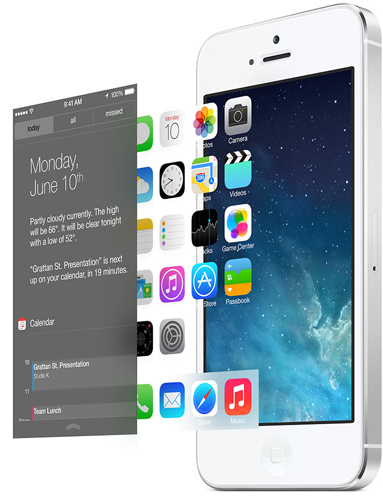 iOS7 Redesign: Experience Motion Sickness (Video)