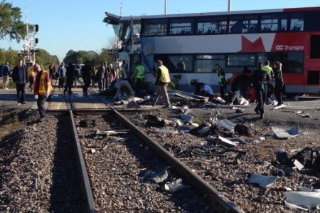'Six Dead' in Ottawa, Canada After Bus and Train Collision