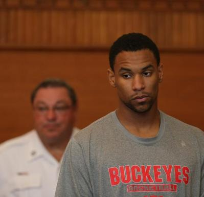 Boston Celtics' forward Jared Sullinger has plead not guilty to assault charges.