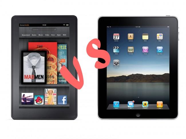 technology, android, apple, kindle fire hdx, ipad, versus battle