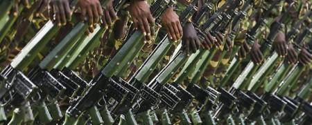 Kenyan Soldiers.