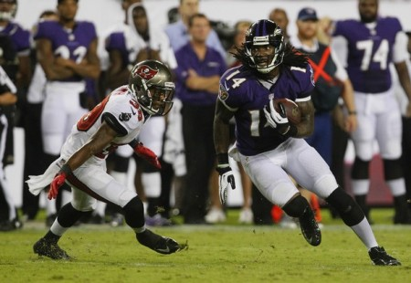 Marlon Brown is a sneaky play that could win you your fantasy match up in week two.