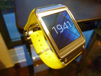 The Galaxy Gear comes in an explosion of colors
