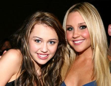 Miley Cyrus & Amanda Bynes